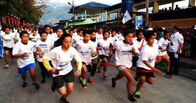 Arunachal:  Mini marathon on theme 'Run for sports'
