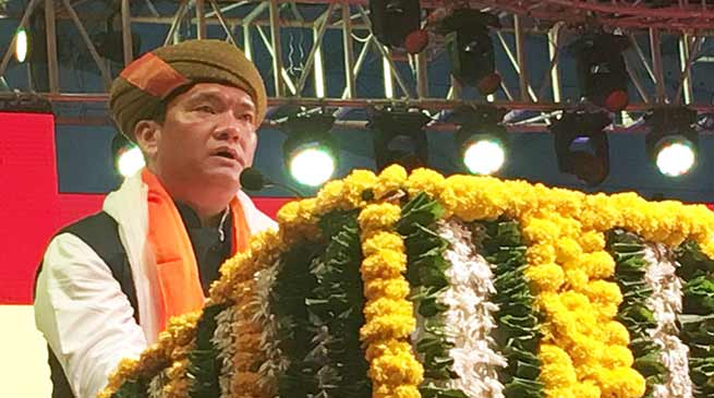 Gujrat : Arunachal CM attends Madhavpur Mela at Ghed in Porbandar