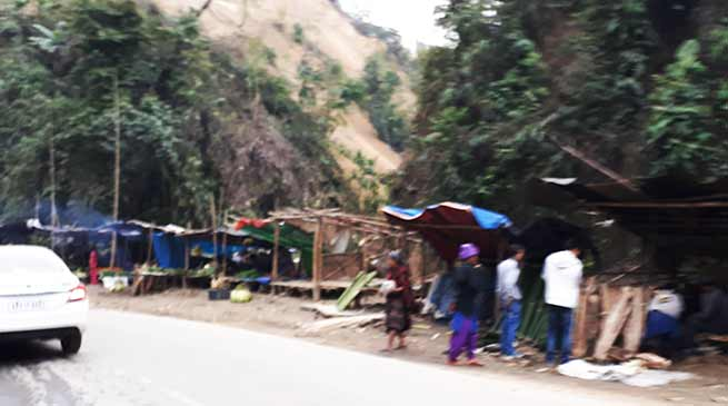 Arunachal : Hawkers and Vendors appeals for place at NH-415
