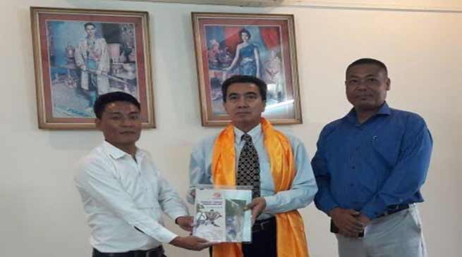 India Asian Friendship Car Rally- 2018 : IFCRA officials meets Thai Embassy
