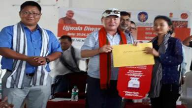 Photo of Arunachal: Ujjwala Diwas celebrated, 216 LPG Connection in Papumpare