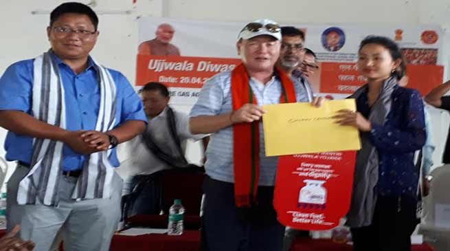 Arunachal: Ujjwala Diwas celebrated, 216 LPG Connection in Papumpare