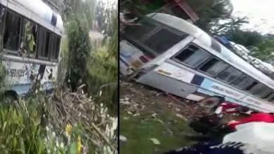 Photo of Arunachal: APST bus meet accident, passenger unhurt