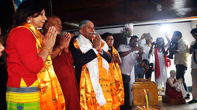 Arunachal: Governor graces Buddha Purnima celebration