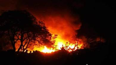 Photo of Arunachal : 20 houses gutted in fire mishap in Namsai