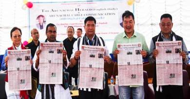Itanagar: Khandu inaugurates 'Arunachal Cable Communication' and 'The Arunachal Herald'
