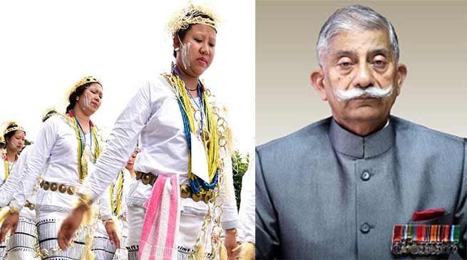 Arunachal Governor conveys Mopin Festival greetings