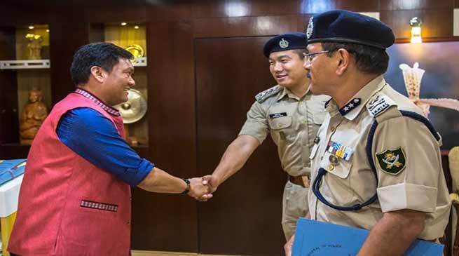 Arunachal: More Arunachali youths must be recruit in ITBP- Pema Khandu