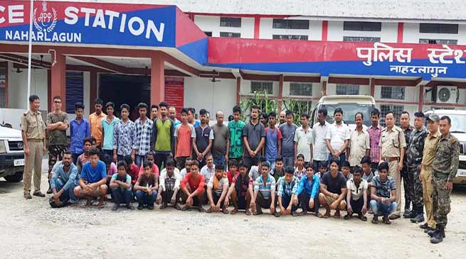 Arunachal: ILP checking continues, 200 detained from twin Capital