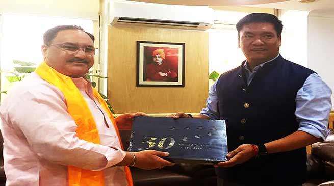 Arunachal: Khandu meets MCI President Dr Jayshree Mehta, Medical College will start soon