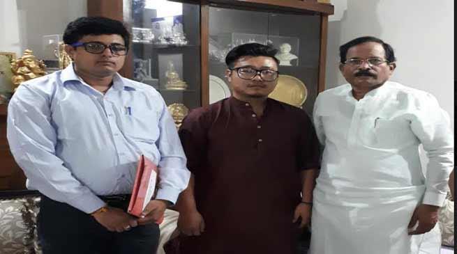 Arunachal : NEHMCH Chairman meet MOS, AYUSH