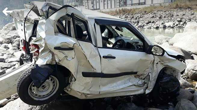Arunachal: 2 killed, a little boy injured in a road accident