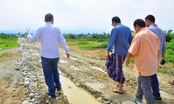 Arunachal: Chowna Mein inspects various projects in Namsai
