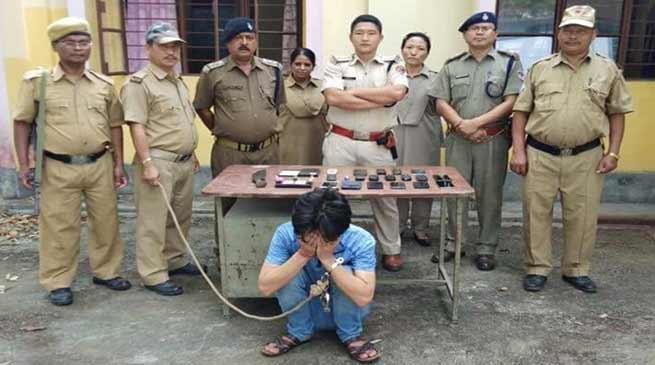 Arunachal: Drug Peddler and Extortionist Arrested in Roing
