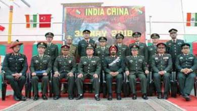 Photo of Arunachal: Flag meet between Indian and Chinese Army held at Bumla