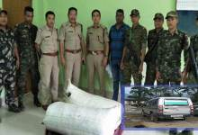 Photo of Arunachal: Capital police detained ILP violator, seized 70 Kg Ganja