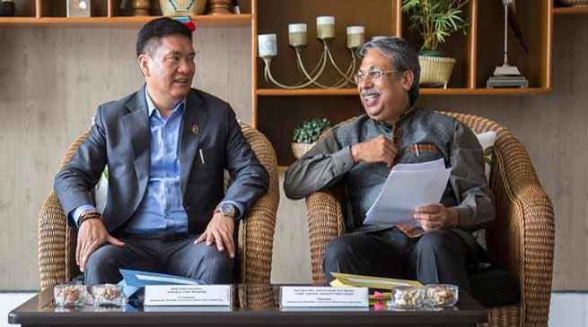 Arunachal : Lokayukta Selection Committee meeting