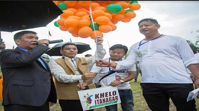 Arunachal: Khandu kicks off 'Khelo Itanagar'