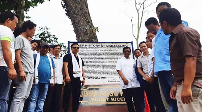Arunachal: Kumsi Sidisow inaugurates the Jowa olgu Fow at Bhalukpong