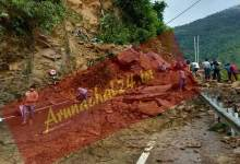Photo of Assam: Massive landslide blocks Shillong-Silchar NH-44