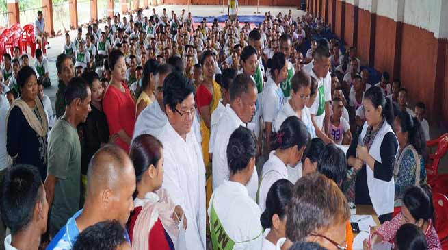 Arunachal: Mega health camp for police personnels and family members