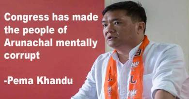Congress has made the people of Arunachal mentally corrupt- Pema Khandu