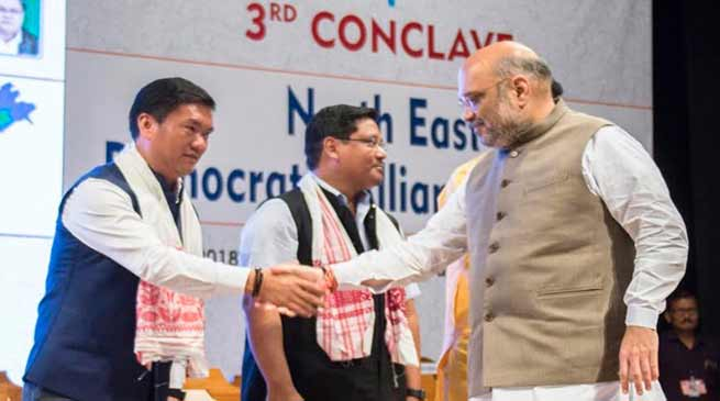 North East is witnessing rapid development under PM Modi- Pema Khandu