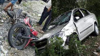 Photo of Arunachal: Motorbike rider seriously injured in a road accident near Roing