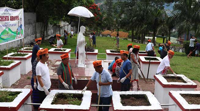 Arunachal:  BJP remembers father of nation Mahatma Gandhi