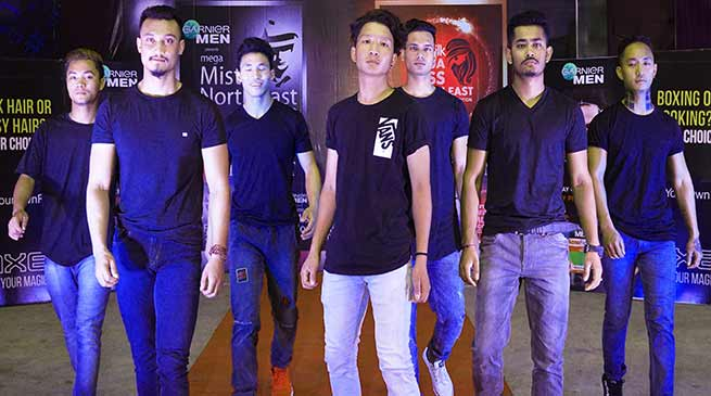 Arunachal: Auditions for Mega Miss North East and Mega Mister North East held at Itanagar