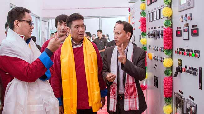 Arunachal: Khandu inaugurates 6MW Shaikangchu Small Hydro Electric Project at Gongkhar village