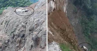 Arunachal: Landslide claim three more live at same spot,  Road closed for 3 days