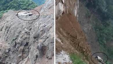 Photo of Arunachal:Landslide claim three more live at Likabali, Road closed for 3 days