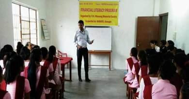 R.K Mossang Memorial Society ( RKMMS ) organised a work shop on Financial Literacy and SHG Bank credit Linkage of SHGs at Jairampur