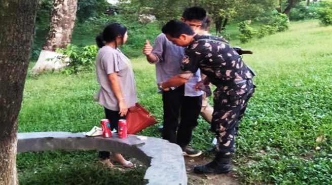 Arunachal: Police launches sensitisation drive at IG Park