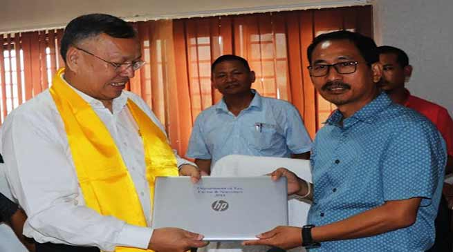 Arunachal:Gamlin asks officials to learn GSTsystems and its rules and regulation