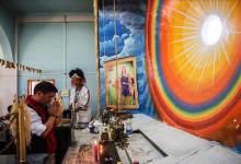 Arunachal: Khandu attends prayer service at Donyi Polo Ganging