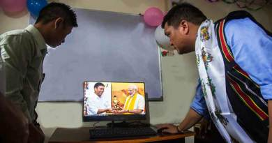 Itanagar- Khandu inaugurates computer-training institute