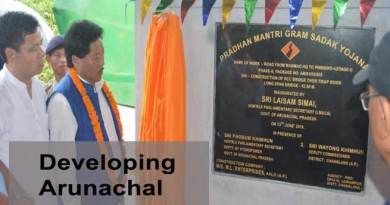 Developing Arunachal- 5 villages in Changlang connected with road communication