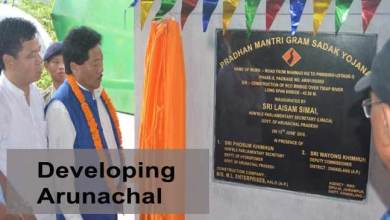 Photo of Developing Arunachal- 5 villages in Changlang connected with road communication