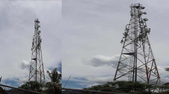 Arunachal: Young Boy Climbs High Mobile Tower