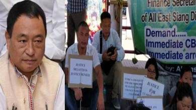 Photo of Arunachal: Ering letter to Waii demanding CBI Enquiry on Ojing Tayng case