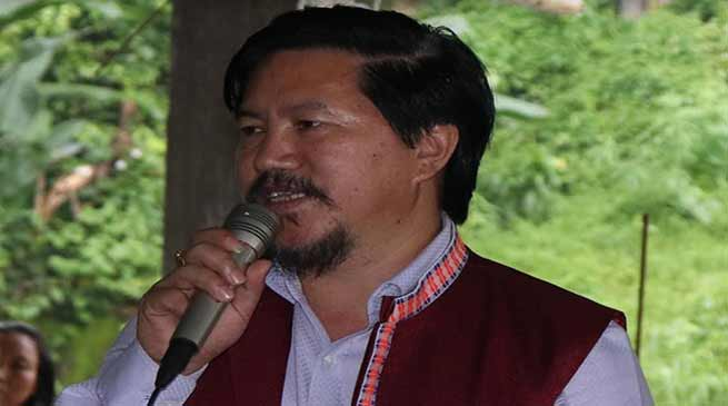 Arunachal: Pani Taram sought cooperation and support from people of Koloriang