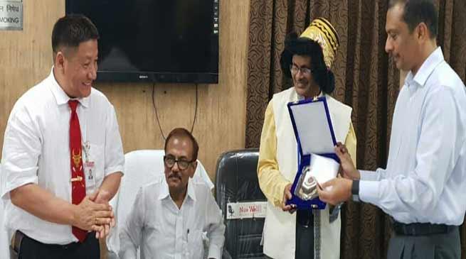 Arunachal Journalist sensitises all ranks police of Rashtrapati Bhawan