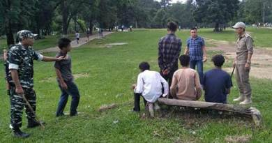 Itanagar:Capital Police continue with sensitisation Drive