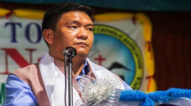 Arunachal: Shun money culture in politics- Pema Khandu