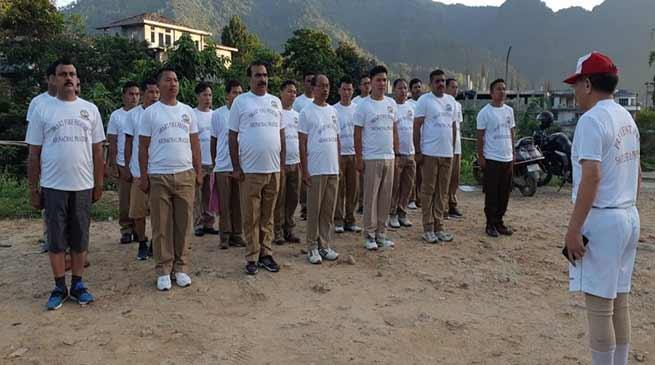 Itanagar: Fitness make man perfect- SP Fire Service