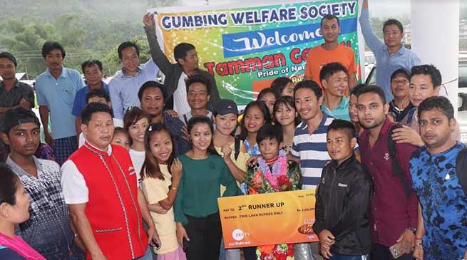 Arunachal:DID little master Tamman Gamnu given warm reception