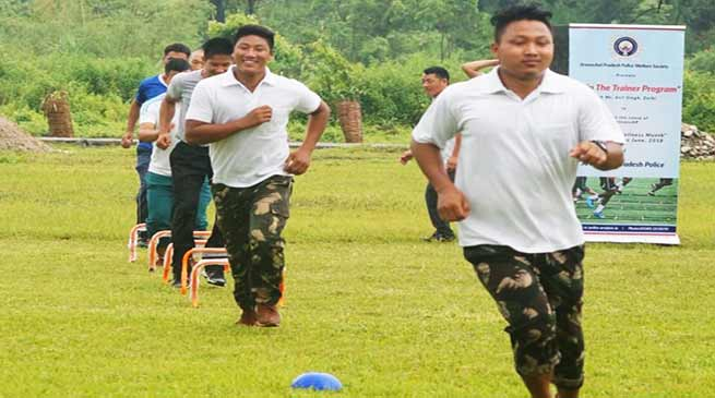 Itanagar: Train-the-Trainer program of Arunachal Police concludes