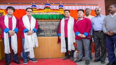 Photo of Arunachal: Khandu dedicates VKV school at Mukto